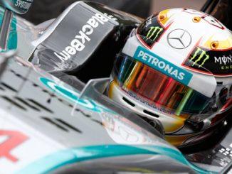 Lewis Hamilton. Bild Mercedes