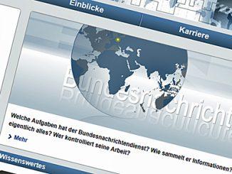 BND-Webseite