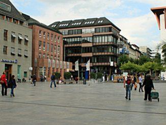 Der Fuldaer Uniplatz