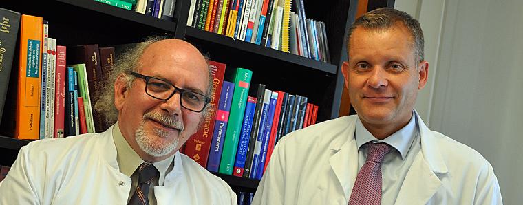 Prof. Dr. Didilis, Priv.-Doz. Dr. Dörge. (v.l.)