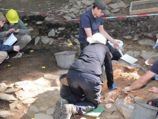 Ausgrabungen an der Milseburg
