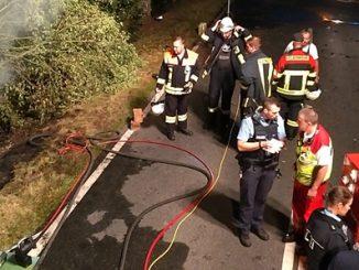 Zwei Menschen verloren bei Unfall ihr Leben