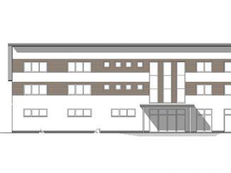 So soll das neue Gebäude aussehen.