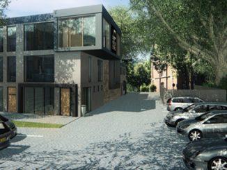 Gestaltungsvorschlag für das Gebäude