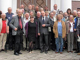 Seminarteilnehmer vor der Agraruniversität PolessK/Labiau