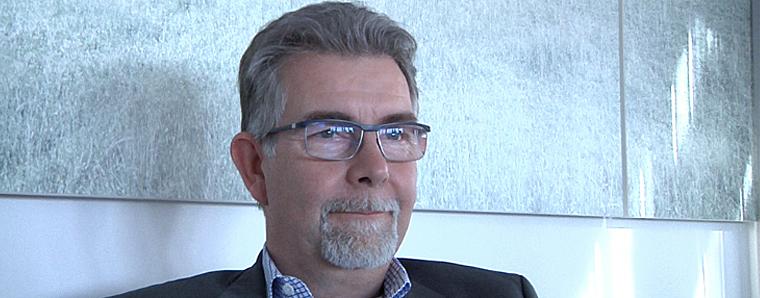 Martin Heun von der RhönEnergie Fulda im Gespräch