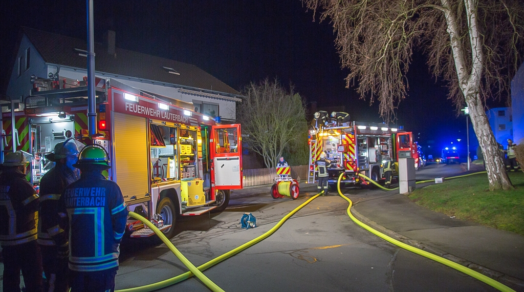 Gebäudebrand Lauterbach