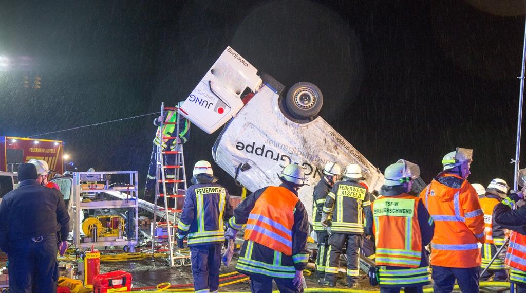 Tödlicher Unfall auf der B254 bei Schwalmtal